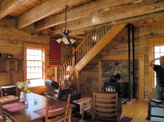 Traditional Hand Hewn Log Homes Custom Designed And